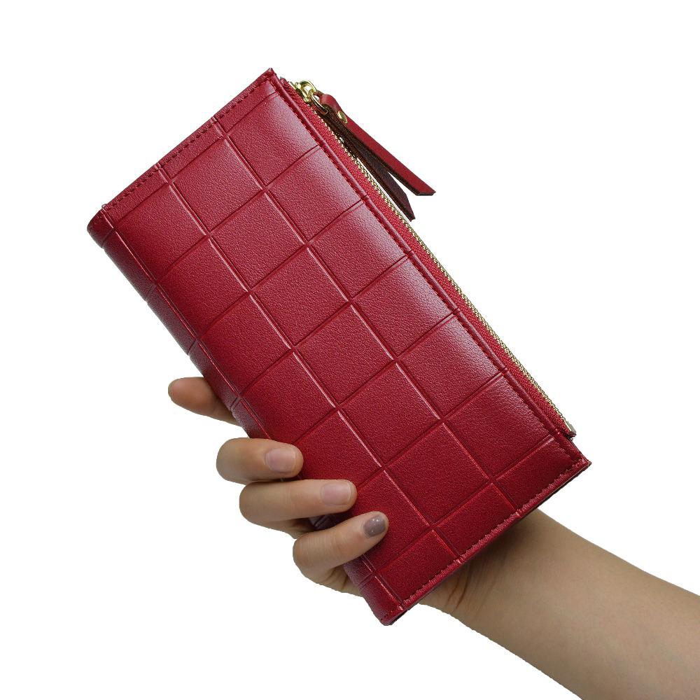 68b81a0b1a Plaid - Vínová peňaženka